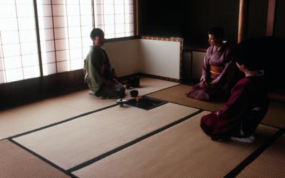 A tea gathering