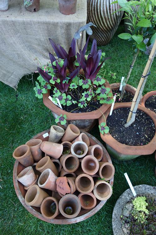 Piles of pots