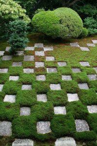 Mirei Shigemori moss garden in Japan